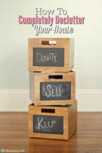 How To Completely Declutter Your House