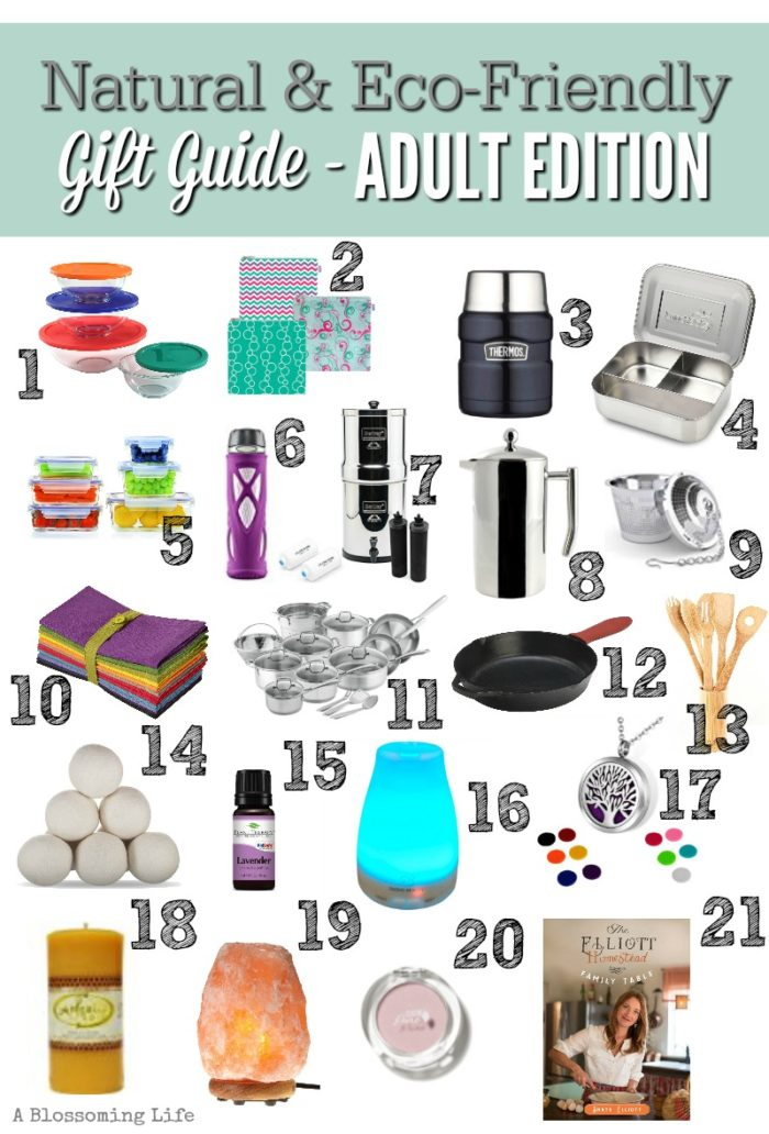 Natural & Eco-Friendly Gift Guide – Adult Edition