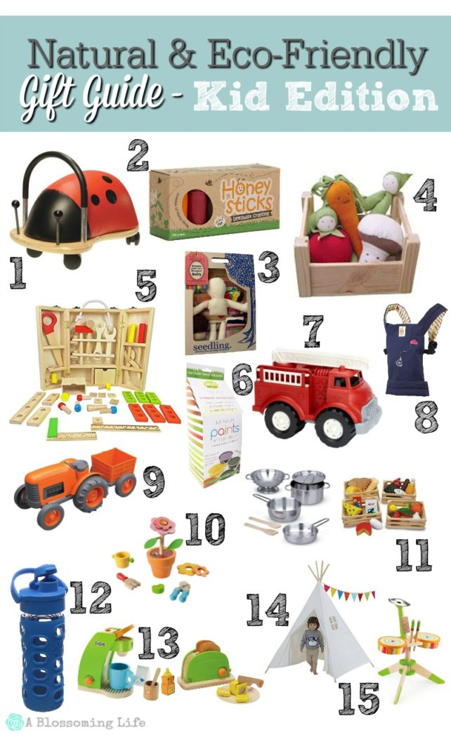 Natural & Eco-Friendly Gift Guide – Kid Edition