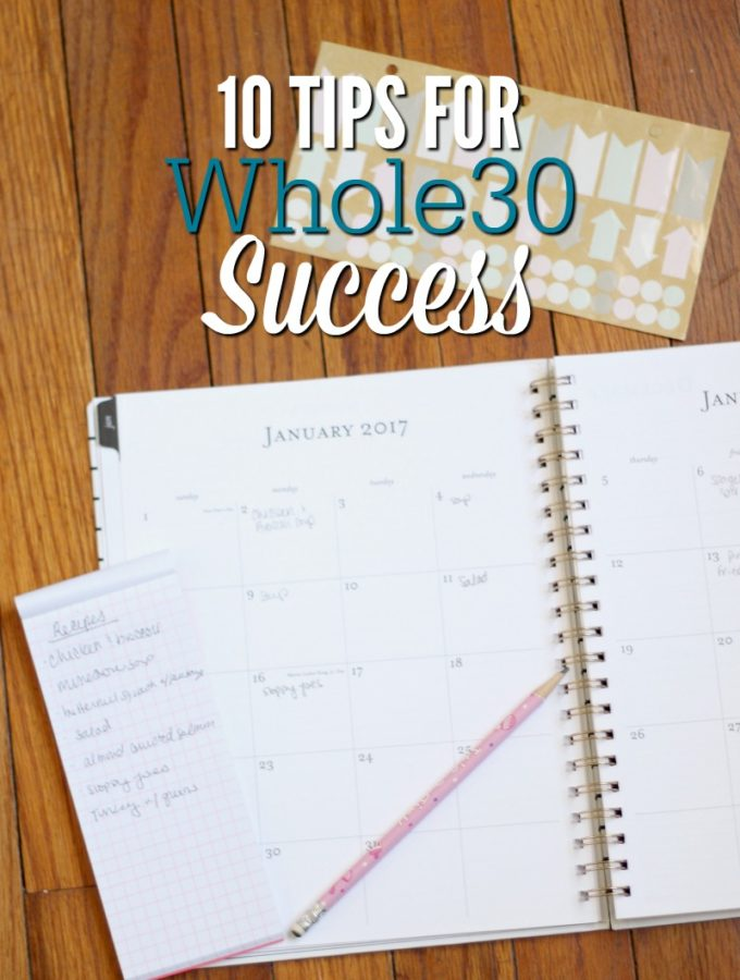 10 Tips for Whole30 Success