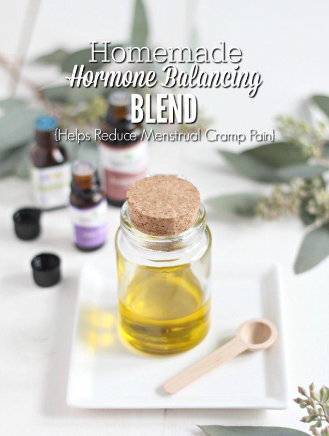 Homemade Hormone Balancing Blend {Reduces Menstrual Cramp Pain}