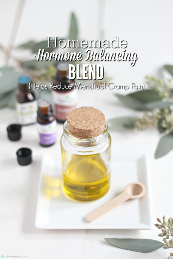 Homemade Hormone Balancing Blend {Reduces Menstrual Cramp Pain}