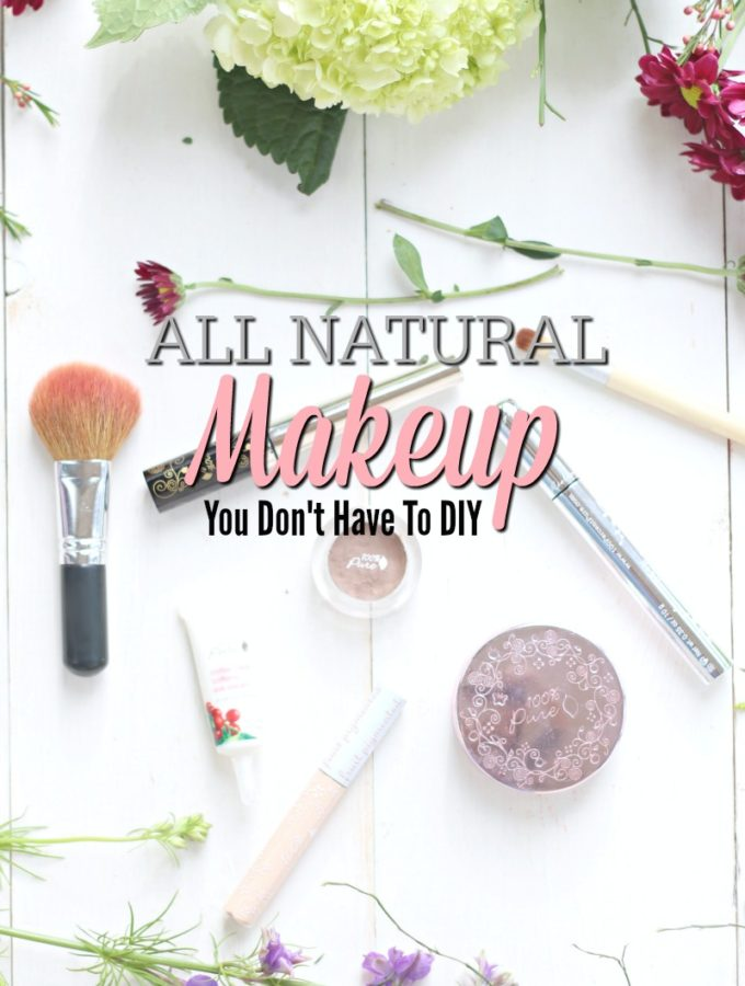 100% Natural Makeup You Don't Have to DIY