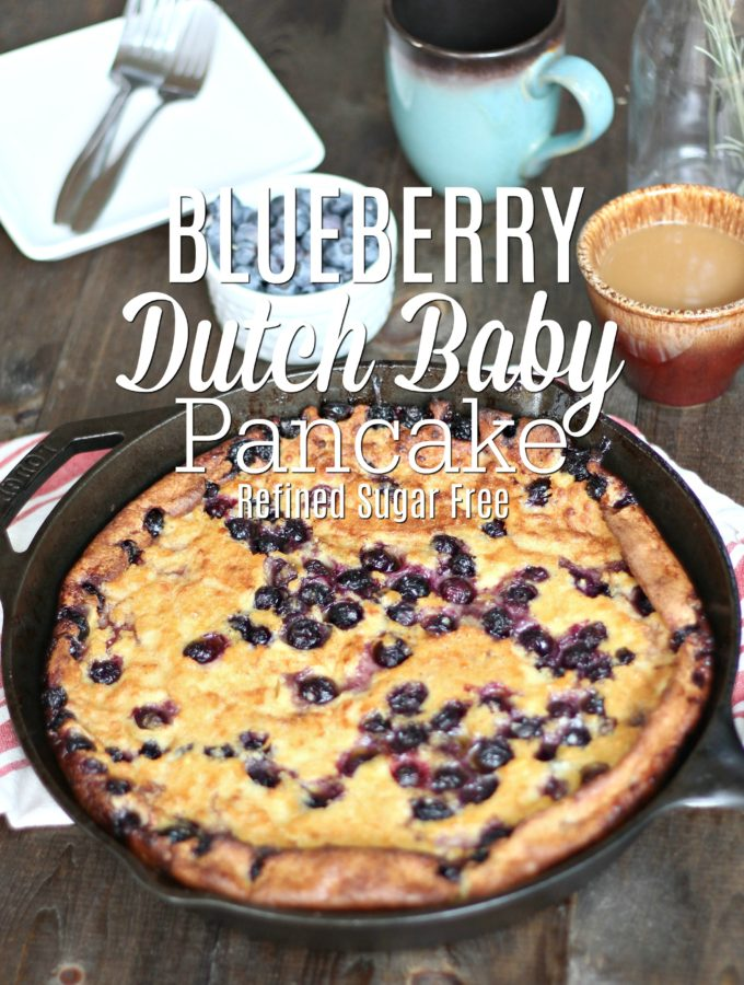 Blueberry Dutch Baby Recipe