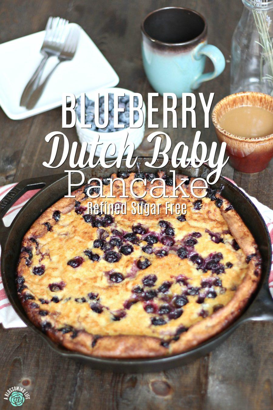 Blueberry Dutch Baby Recipe