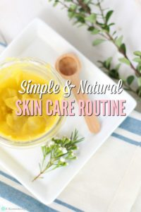 My Simple & Natural Skincare Routine