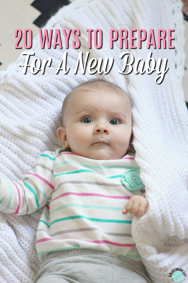20 Ways To Prepare For A New Baby