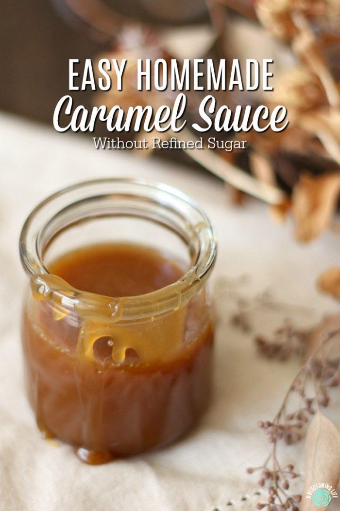 Caramel Sauce - Refined Sugar free