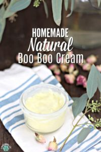 Easy Homemade Natural Boo Boo Cream