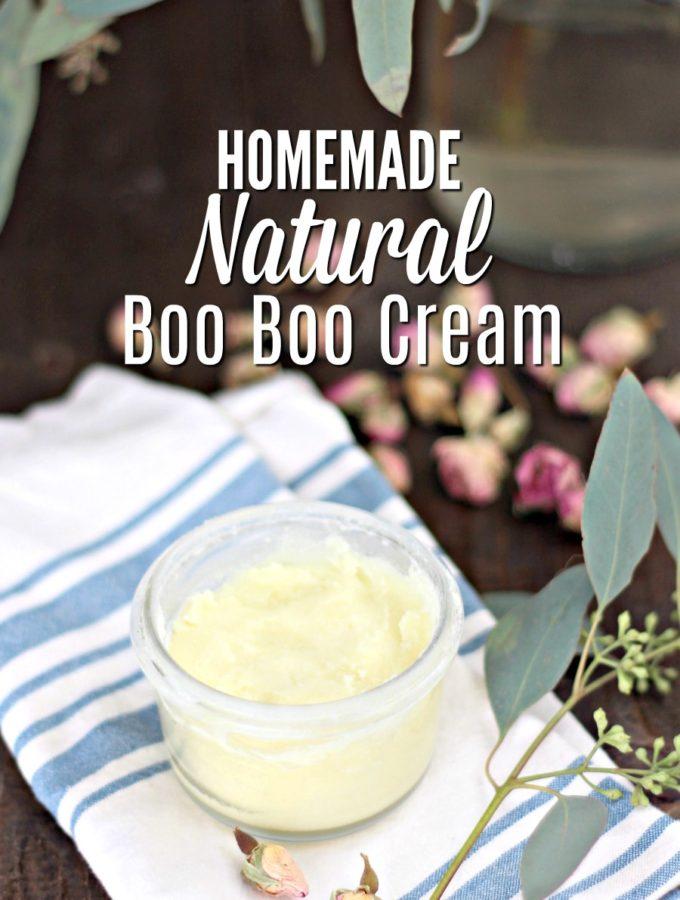 Easy Homemade Natural Boo Boo Cream