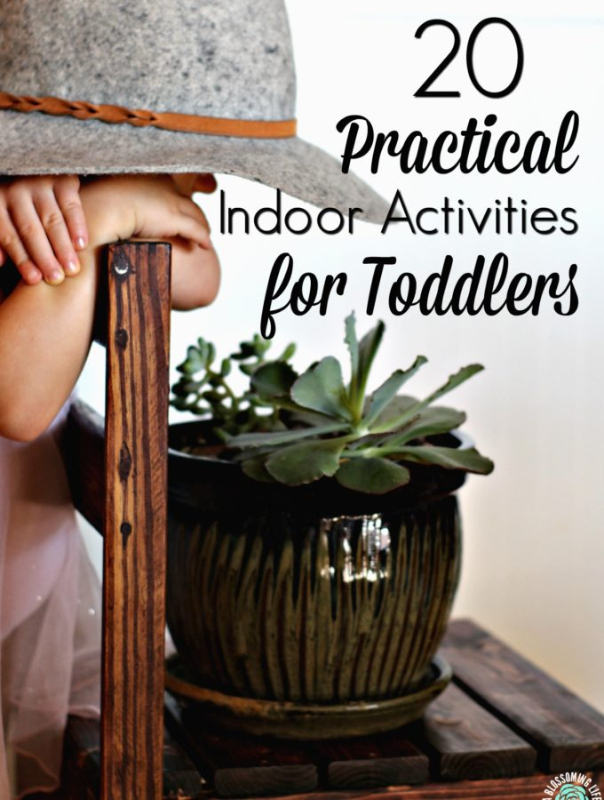 20 Real-Life Indoor Activities for Toddlers