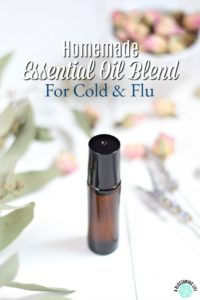 Essential Oil Blend For Cold & Flu {Kid Safe}