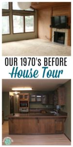 Our 1970's Before House Tour