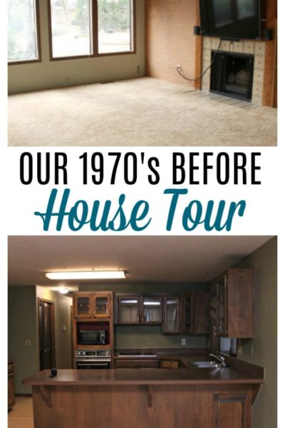 Come check out our 1970's before house tour