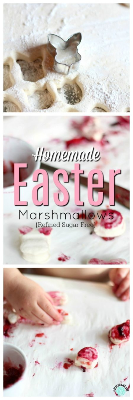 Make this fun and easy Easter marshmallow dessert and craft with children. They will have so much fun creating and eating their masterpieces.