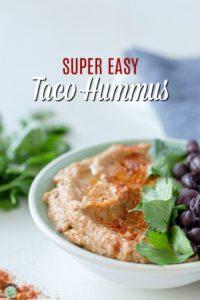 Easy Taco Hummus