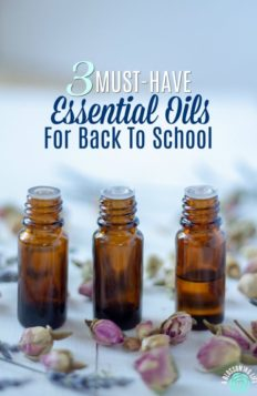 essential oil for back to school