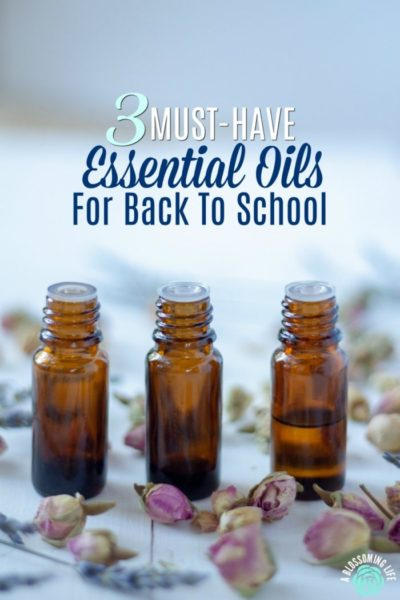 3 Must-Have Essential Oils For Kids Going Back To School