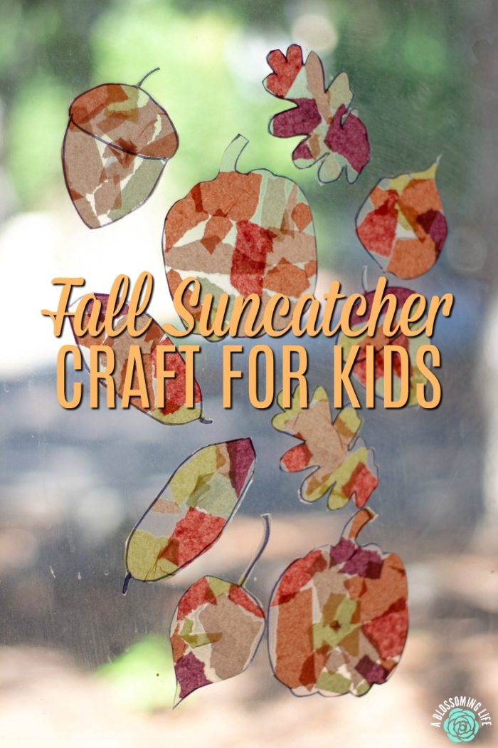fall sun catcher craft