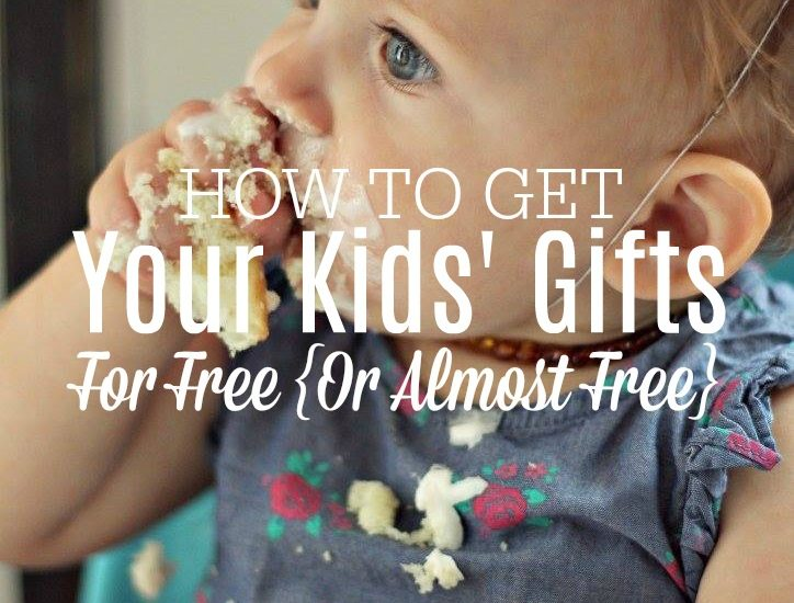 learn how to get gifts for your kids for next to nothing and how to save for Christmas.
