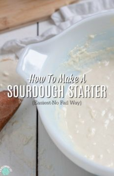 Learn how to make the easiest sourdough starter to create delicious sourdough bread recipes