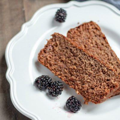 Blackberry Banana Breakfast Bread – GF