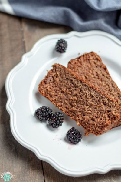 Blackberry Banana Breakfast Bread – GF