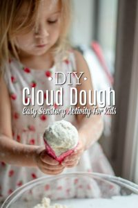 DIY Cloud Dough – Easy Sensory Activity