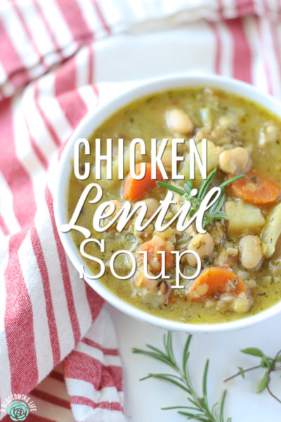 Chicken Lentil Soup: Easy Weeknight Soup