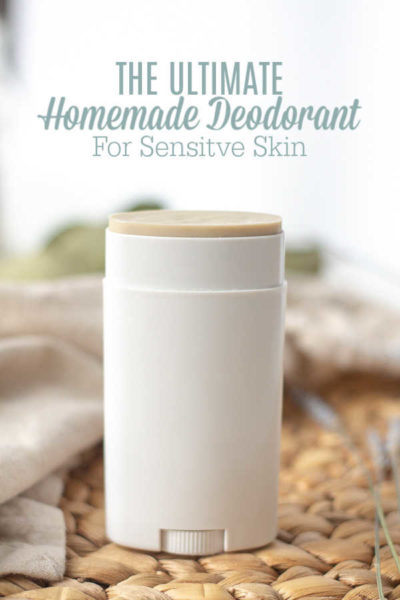 The Ultimate Homemade Deodorant for Sensitive Skin