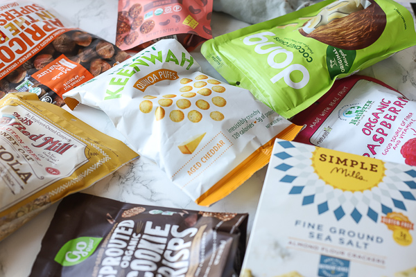 crunchy packaged snack foods - health snack ideas for kids